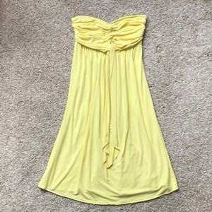 Strapless Twist Tie Dress Express